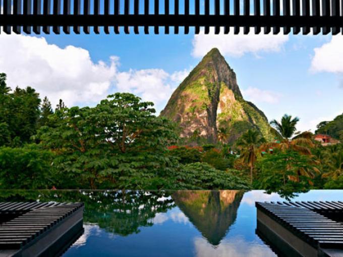9-Hotel Boucan en Soufriere en Santa Lucía, un descanso garantizado en esta isla del Caribe.