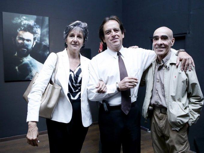 Esperanza Aranda, Francisco Hortiguela y Guillermo Aguirre