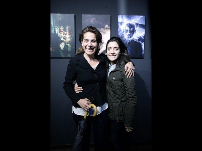 Mery López y Fernanda Muriel