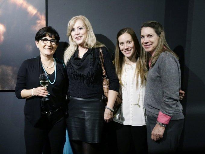 Alejandra Jiménez, Cecilia Desouches, Andrea Cayon y Maria Desouches