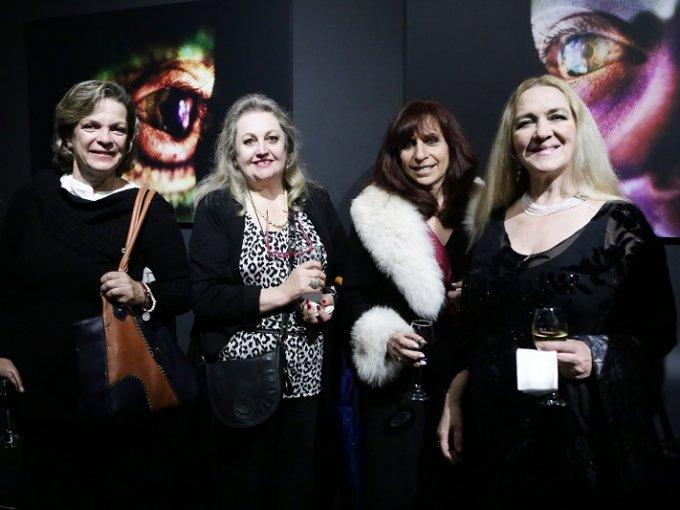 Maria Eugenia Gutierrez, Alejandra Ramirez, Lourdes Mendoza y Valeska Lemmen