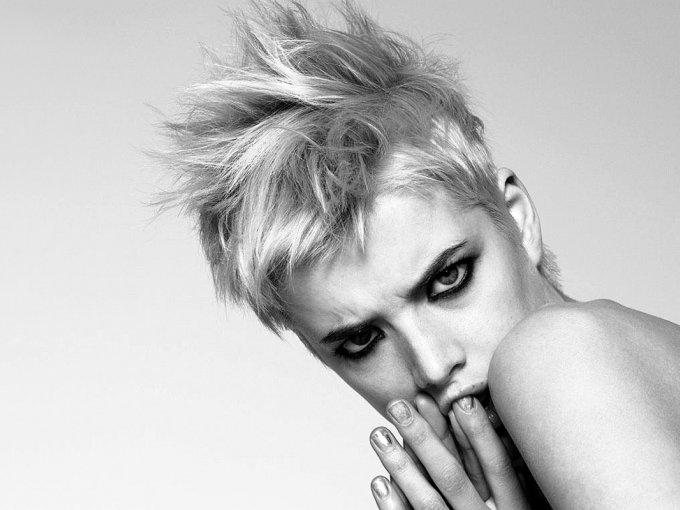 Agyness Deyn/ Reino Unido/ 32 años: ha aparecido en Vogue Italia y fue imagen de Burberry en más de una ocasión.