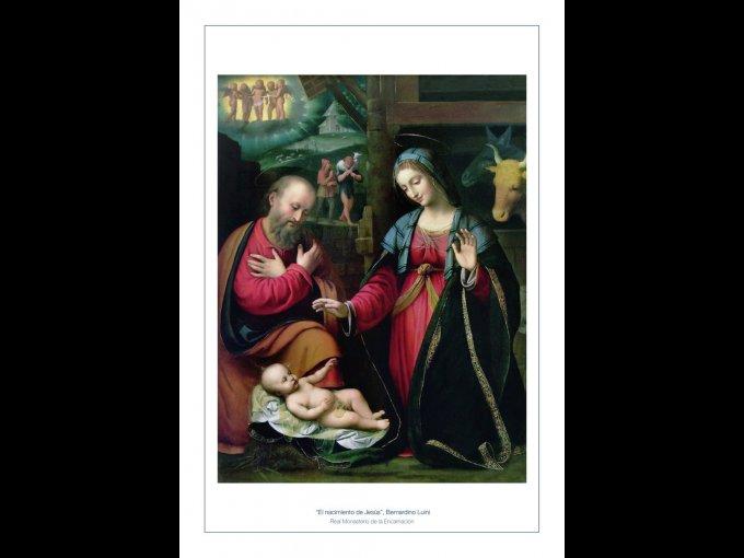 Don Juan Carlos y Doña Sofía de España mantienen su tradicional felicitación navideña al enviar una tarjeta con la imagen de la Virgen María y San José.