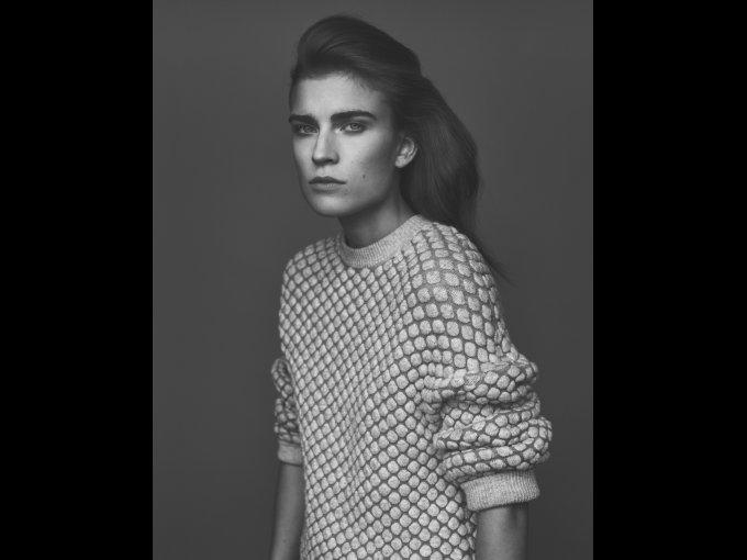Jana Knauerova/ República Checa: esta chica ha aparecido tanto en la portada de Elle como en GQ.