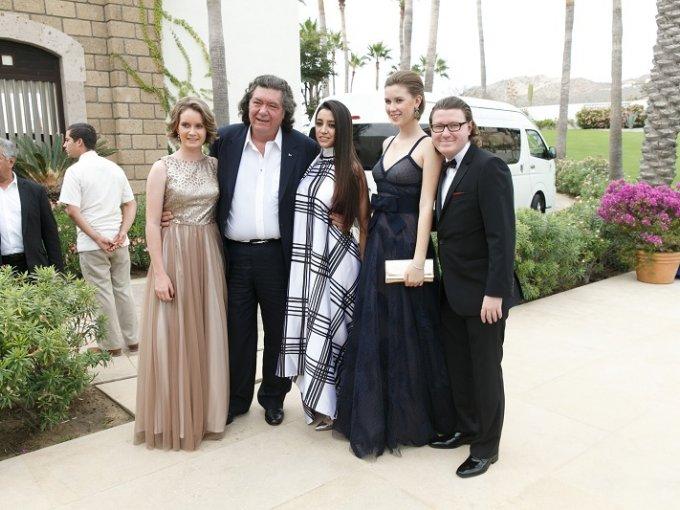 María Guadalupe y Jorge Hank, Eugenia Morales y Nirvana y Jorge Carlos Hank