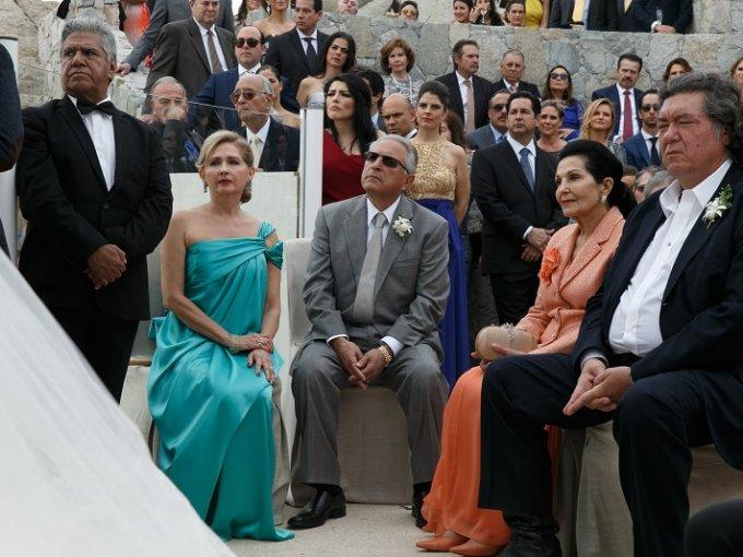 Alejandra Amaya, Humberto Cohen, María Elvia Araujo y Jorge Hank