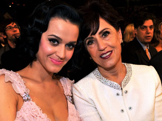 Katy Perry y Mary Perry Hudson