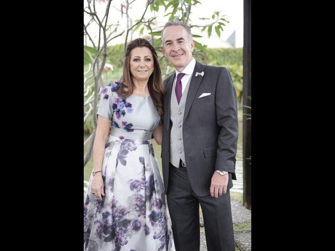 Rodrigo Avendaño y Amira Chida