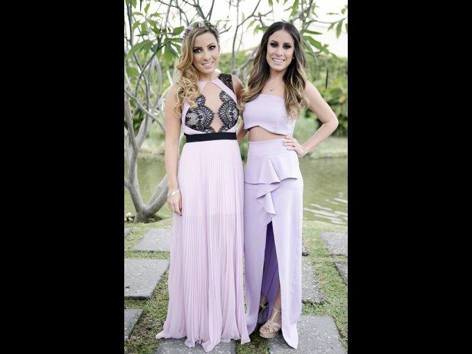 Amira Avendaño y Pamela Avendaño