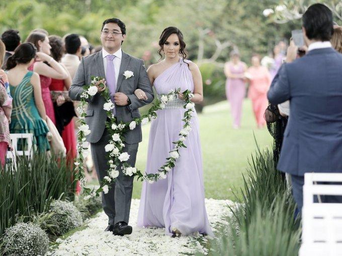 Diego Amador y Karina Gil
