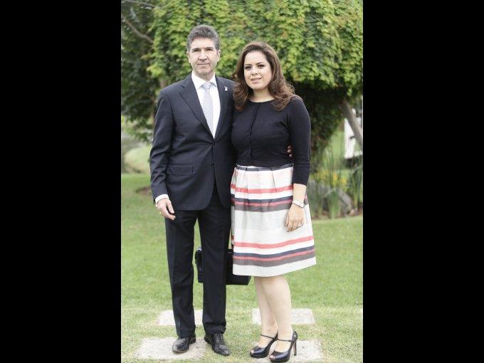 Eduardo Doval y Eugenia Muñoz