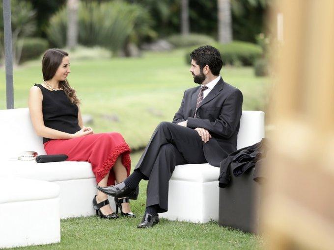 Denise Barquet y Karim Rojano