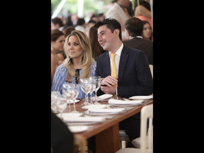 Daniela Huerta y Pablo Casillas