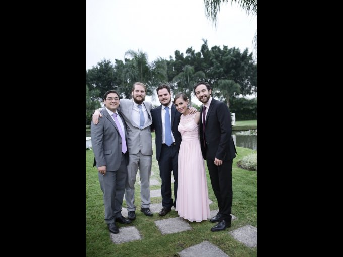 Diego Amador, Antonio Diez, Honorio Vázquez, Silvana García y David Robles