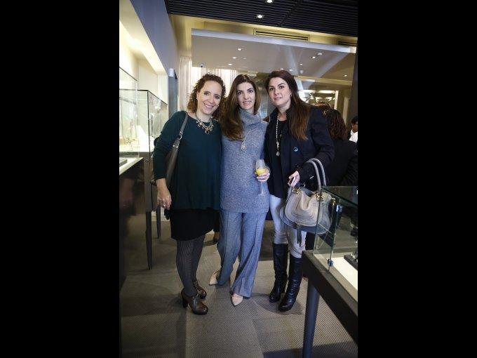 Thania Arechiga, Ana Checa y Norma Cantú