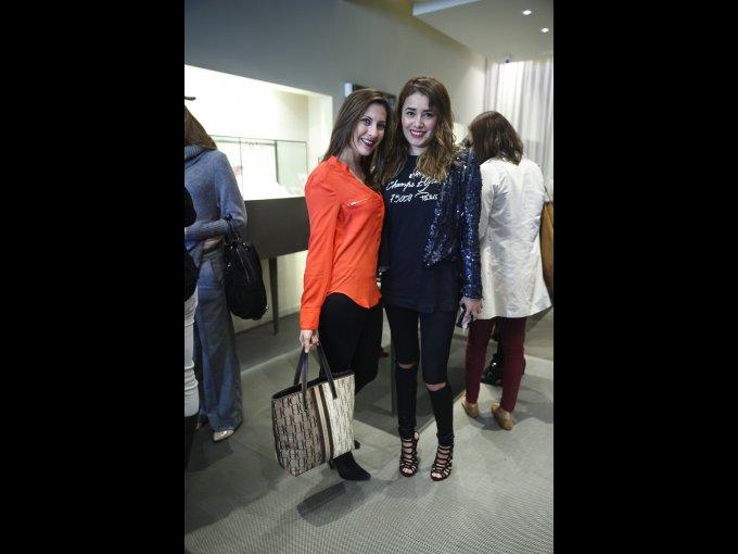 Ashanti Reza y Eunice Martínez