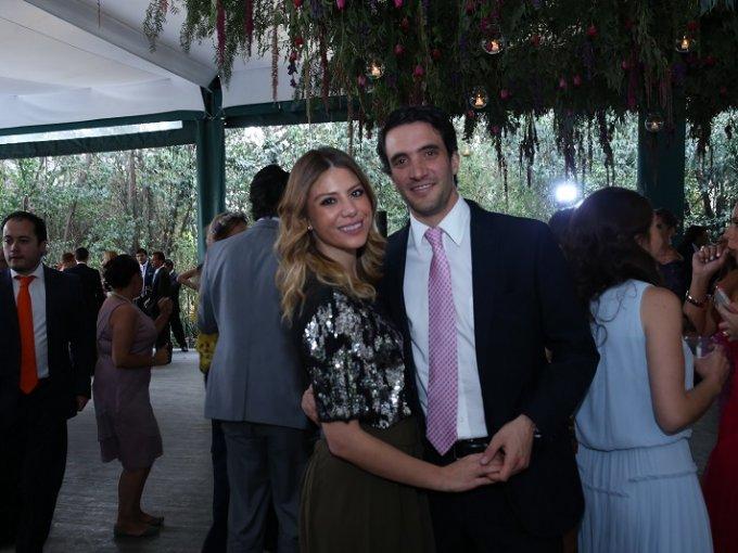 Fernanda Padilla y Joaquín Obregón