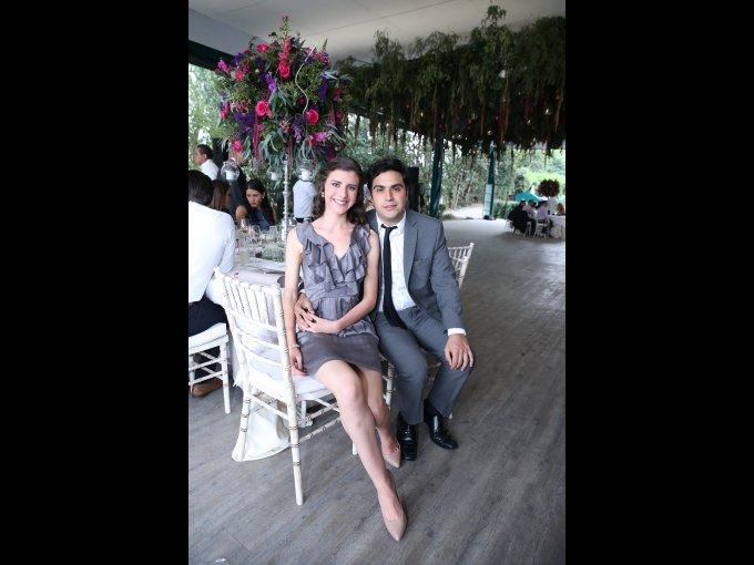 Paulina Rangel y Akram Saab Reyes