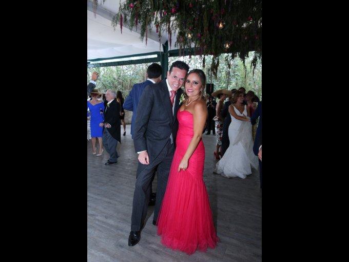 Juan Miguel Anaya y Tatiana Strevel