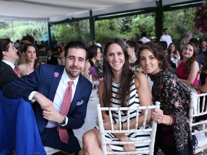 Axel Fonte, Sofía Álvarez y Débora Magni Castellano