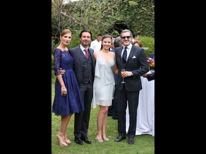 Nour Alsaleh, Moisés Gracia, Teresa Anchústegui y Rafael de Abad