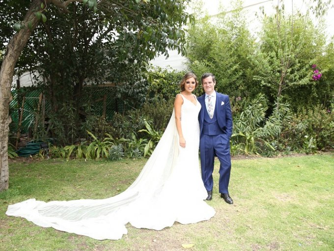 Greta Strevel y Juan del Portillo