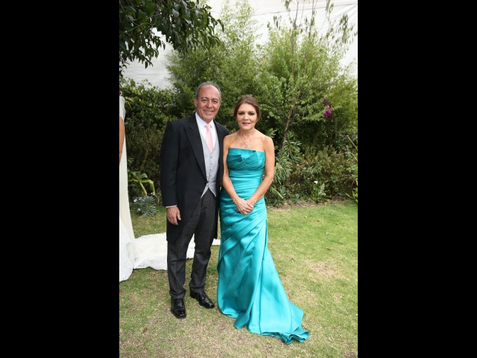 Ricardo Strevel Roche y Magdalena Sánchez