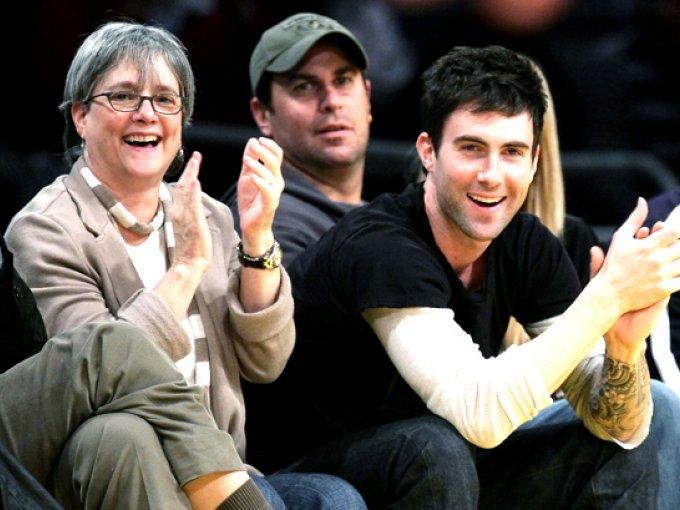 Adam Levine y Patsy Noah