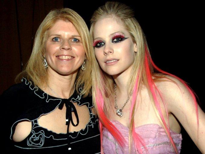 Avril Lavigne y Judith-Rosanne