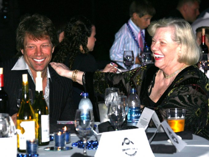 Bon Jovi y Carol Sharkey