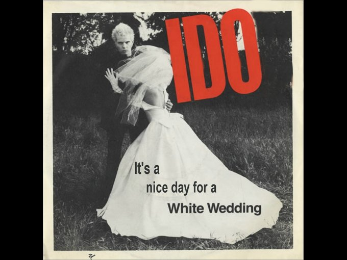 "3.""White Wedding"" de Billy Idol 