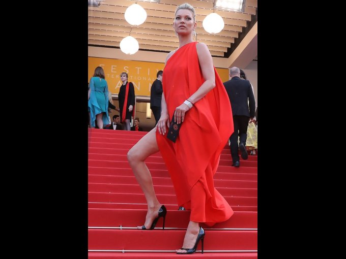 Kate Moss en Halston