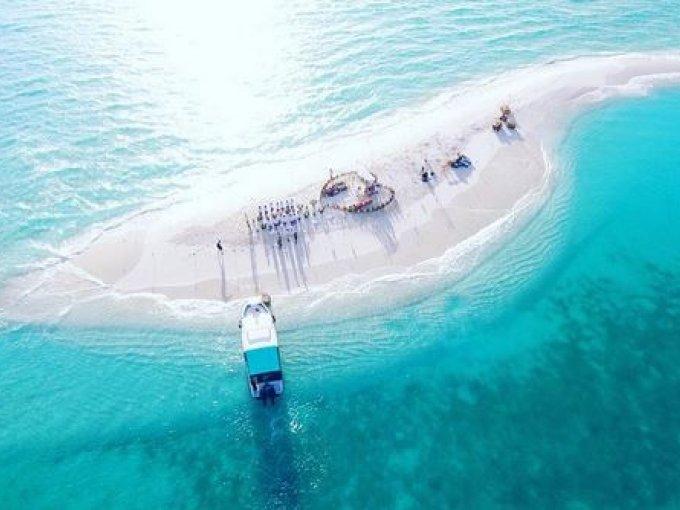 Arena blanca, mar turquesa… ¡el escenario ideal!