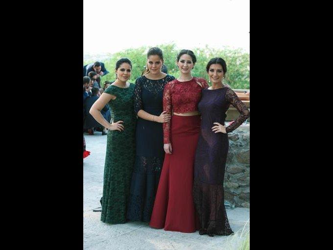 Siria Burgos, Carla Díaz, Ana Sofía Psihas y Geraldine Álvarez