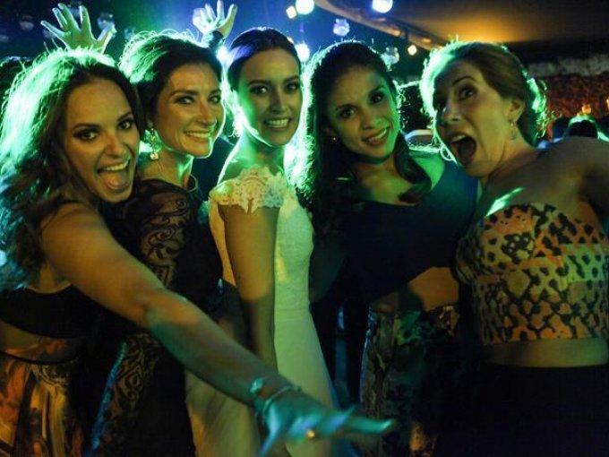 Jessica Bajos, Geraldine Álvarez, Paulina Florencia, Alejandra Landeros y Andrea Sierra
