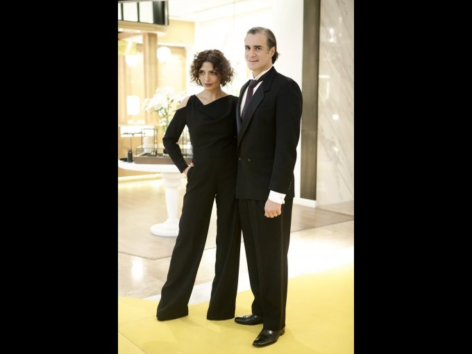 Luisa Peña y Héctor Pita