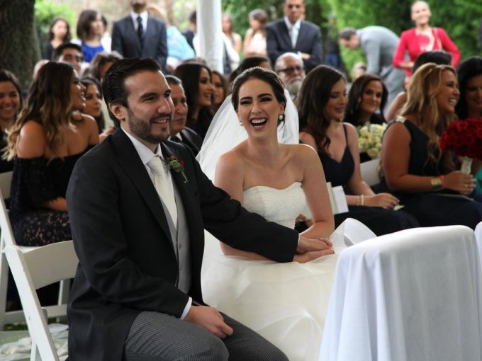 Alejandro Garza y Fernanda Álvarez