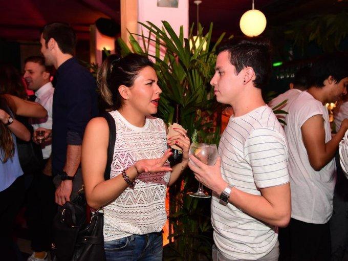 Andrea Franco y Angel Barrios