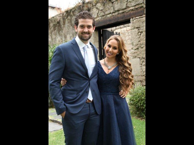 Rodrigo Quilarque y Karla Álvarez