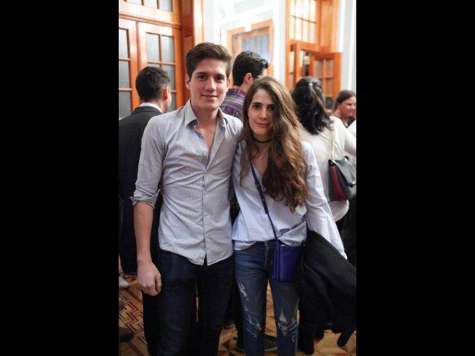 Gilberto Pérez y Ainhoa Jiménez