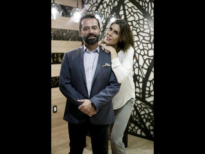 Nicolás Martín del Campo y María Forcada
