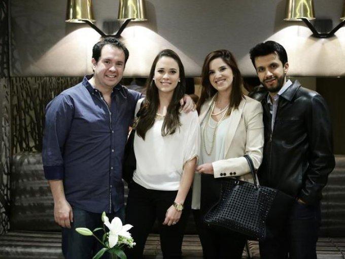 Andrés Sarratea, Malú Aguirre, Fabiola Salas y Eduardo Moheno