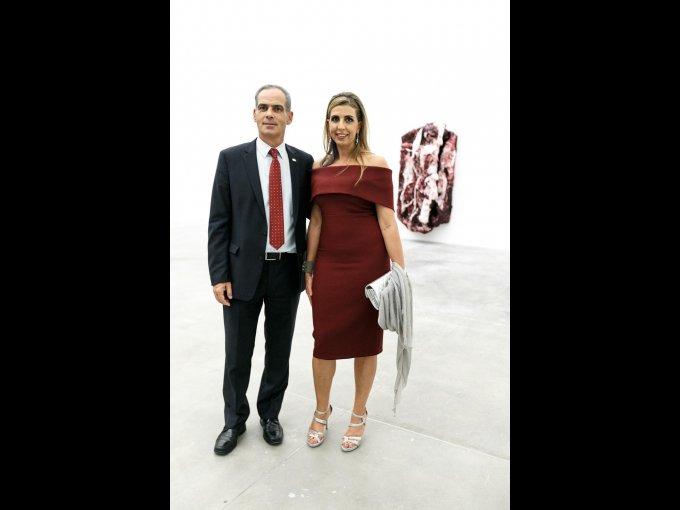 Jonathan Peled y Elvira Daniel