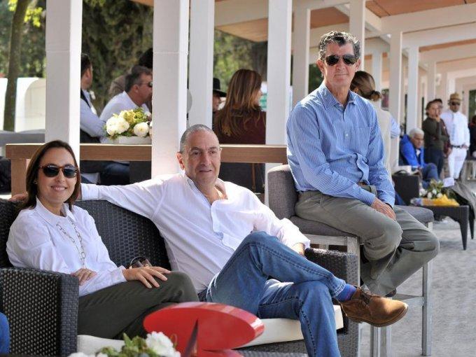 Mónica Pardo, Manuel Carral y Santiago Urquiza
