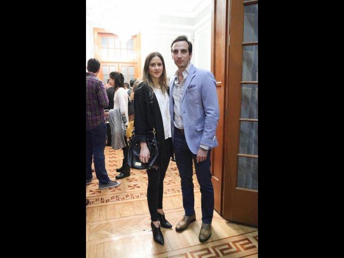 Pamela Sánchez y Paul Mamburi