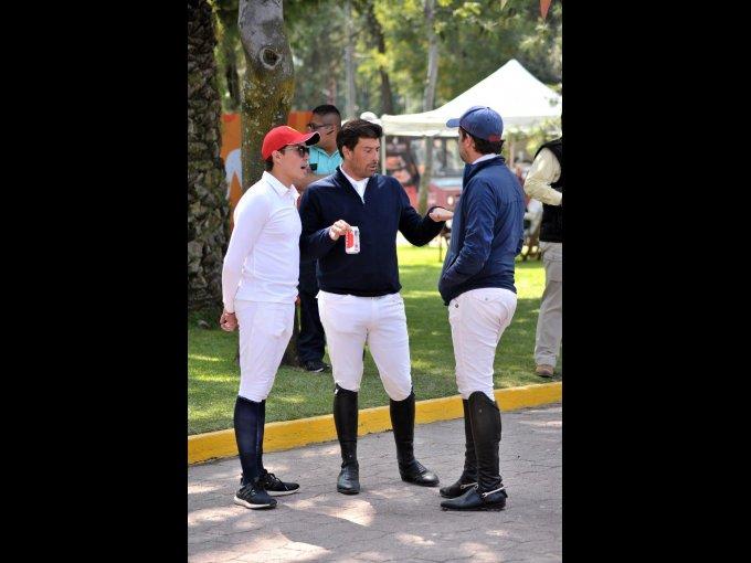 Diego Rodríguez, Gerardo Pasquel y Francisco Pasquel