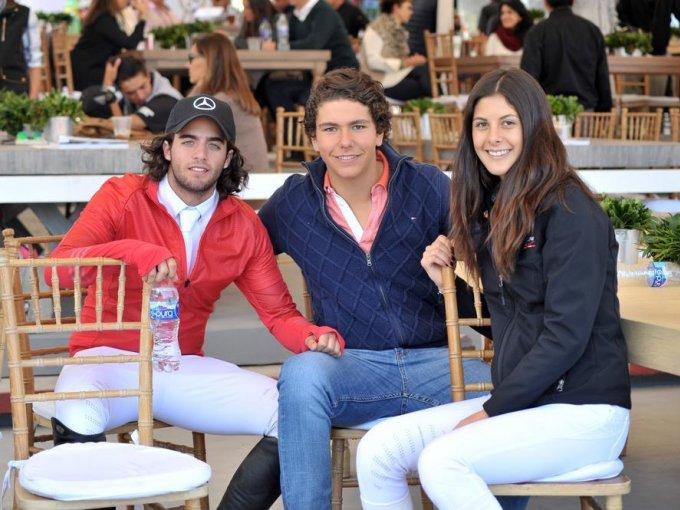 Daniel Attie, Jerónimo Mills y Nicole Meyer