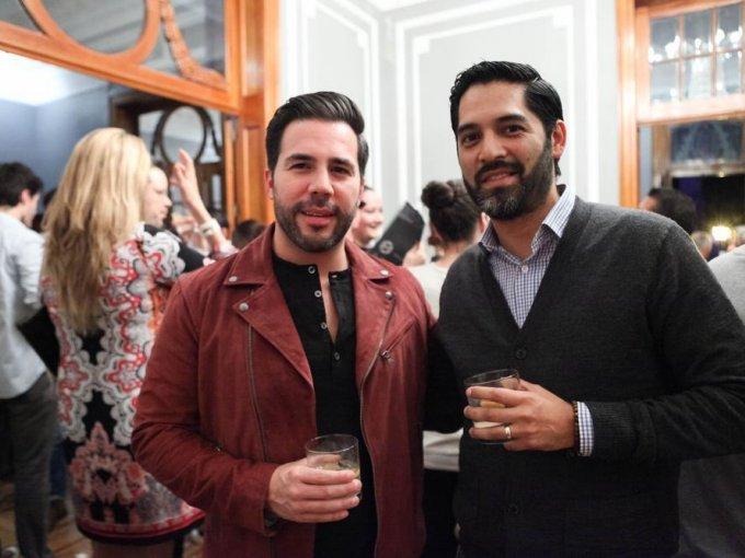 Carlos Staines y Omar Acosta