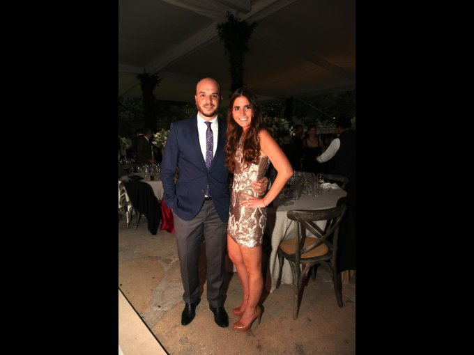 Santiago Álvarez y Paola Pérez