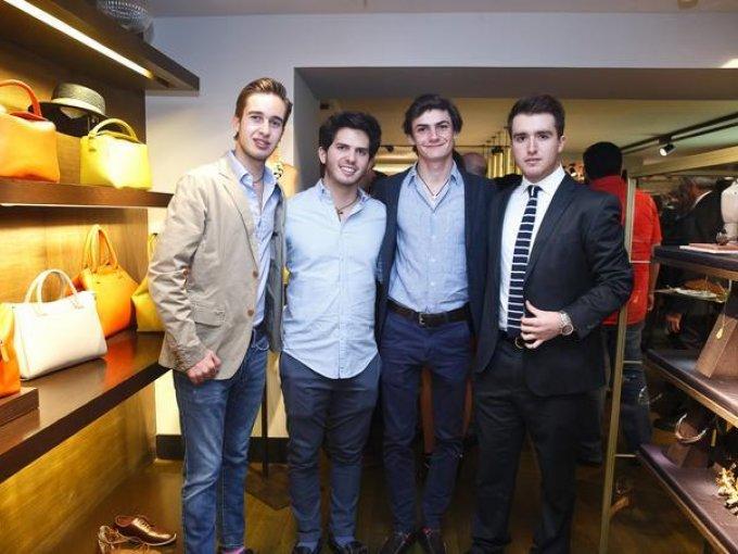 Javier Caballero, Salvador Villalobos, Pedro Serrano y Juan Ignacio Pérez